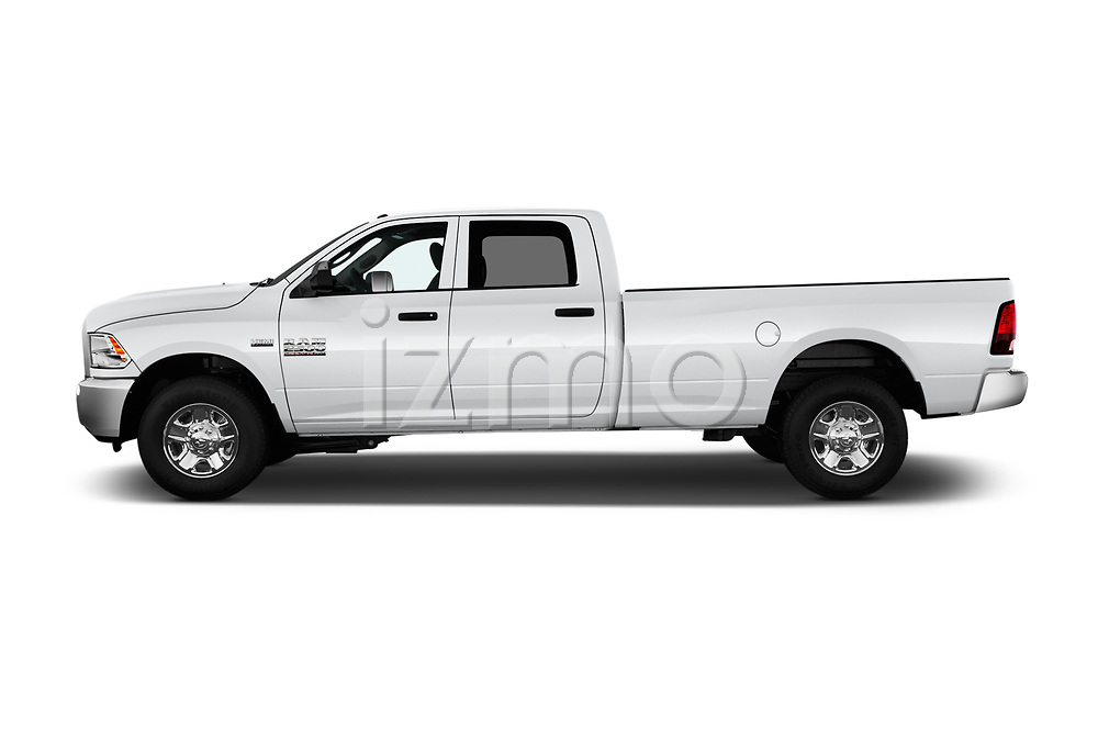 Car driver side profile view of a 2017 Ram Ram 2500 Pickup Tradesman 4wd Crew Cab LWB 4 Door Pick Up