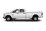 Car driver side profile view of a 2018 Ram Ram 2500 Pickup Tradesman 4wd Crew Cab LWB 4 Door Pick Up