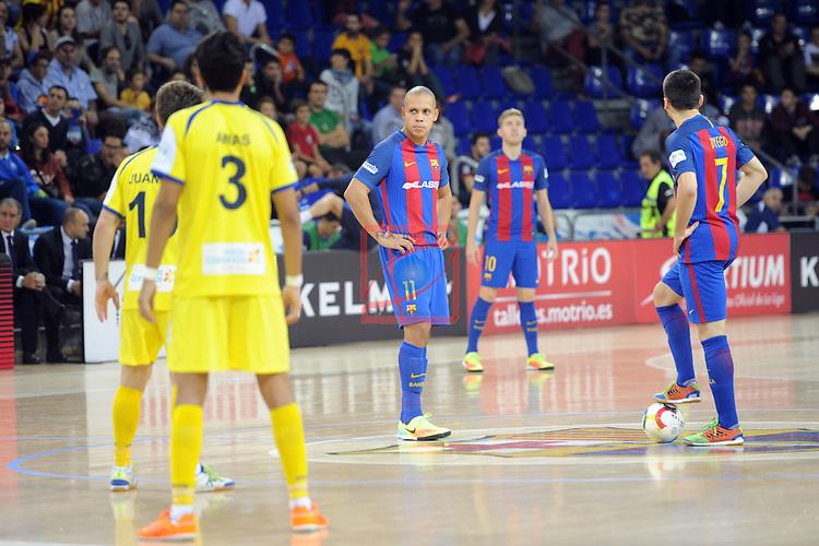 League LNFS 2016/2017 - Game 4.<br /> FC Barcelona Lassa vs Gran Canaria FS: 4-2.