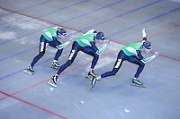 SCHAATSEN: IJSSTADION THIALF: 06-06-2013, Training zomerijs, TVM, ©foto Martin de Jong