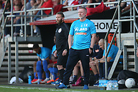 Hartlepool United manager Craig Hignett during Dagenham & Redbridge vs Hartlepool United, Vanarama National League Football at the Chigwell Construction Stadium on 14th September 2019