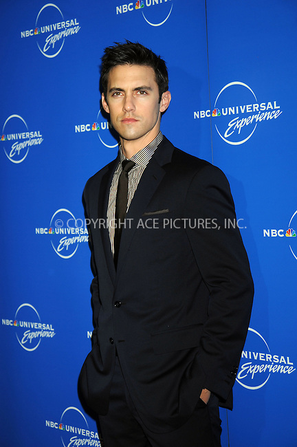 WWW.ACEPIXS.COM . . . . .....May 12, 2008. New York City.....Actor Milo Ventimiglia attends the NBC Universal Experience at Rockefeller Center.  ....Please byline: Kristin Callahan - ACEPIXS.COM..... *** ***..Ace Pictures, Inc:  ..Philip Vaughan (646) 769 0430..e-mail: info@acepixs.com..web: http://www.acepixs.com
