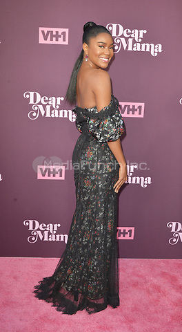 """LOS ANGELES, CA- MAY 03: Gabrielle Union at the VH1's Third Annual """"Dear Mama: A Love Letter to Moms"""" at the Theatre at ACE Hotel on May 3, 2018 in Los Angeles, California.Credit: Koi Sojer/Snap'N U Photos/Media Punch"""