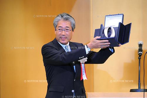 JOC Tsunekazu Takeda, JULY 16th, 2011 : Japan Sport Association and Japanese Olympic Committee 100th Anniversary Commemorative Reception in Tokyo, Japan. (Photo by YUTAKA/AFLO SPORT)
