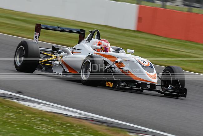 Daryl Jones - Team Fox Racing Dallara F308 Honda NBE