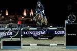 Jane Richard Philips of Switzerland rides Pablo de Virton competes at the Laiterie de Montaigu Trophy during the Longines Hong Kong Masters 2015 at the AsiaWorld Expo on 14 February 2015 in Hong Kong, China. Photo by Juan Flor / Power Sport Images