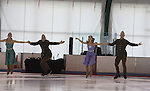 Celebrity skaters perform at Ice Theatre of New York's Celeb Skate 2013 on June 9, 2013 at the Sky Rink at Chelsea Piers, New York City, New York. (Photo by Sue Coflin/Max Photos)
