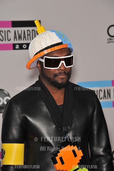 Will-I-Am of the Black Eyed Peas at the 2010 American Music Awards at the Nokia Theatre L.A. Live in downtown Los Angeles..November 21, 2010  Los Angeles, CA.Picture: Paul Smith / Featureflash