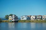 Multiple Houses on a Lake