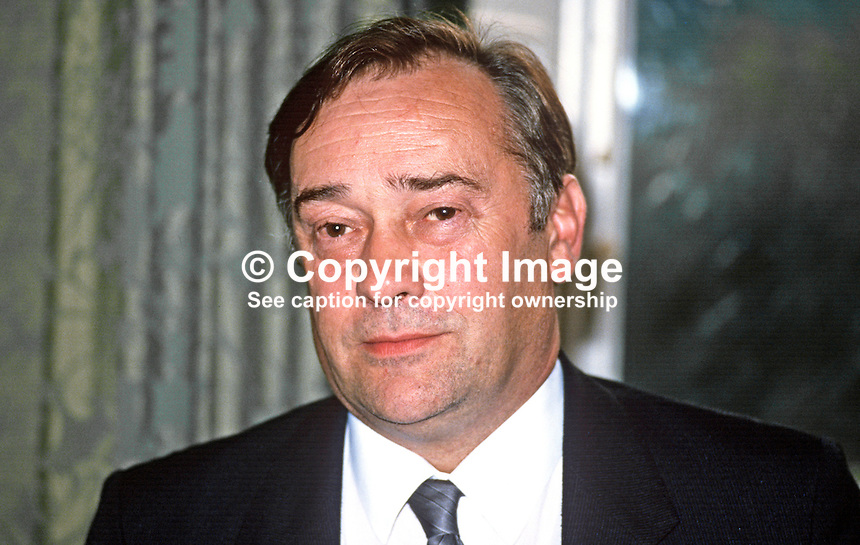 Robert Cooper, head, Fair Employment Agency, N Ireland, UK, 19870817RC.<br />