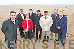 Minister Brian Hayes sees first hand the desstruction of Rossbeigh beach from coastal erosion during a visit to the area last Friday l-r: Senator Tom Sheahan, Mary Lue O'Sullivan, Brendan Griffin TD, KennethO'Neill, Des O'Neill, Cllr: Michael Cahill and Jimmy Healy ......