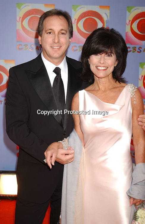..Adrienne Barbeau and husband Billy Van Zandt..at CBS's 75th Anniversary at The Hammerstein Ballroom in ..New York City on November 2, 2003. Photo by Robin Platzer, Twin Images