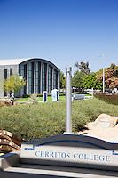 Cerritos College Stock Photo