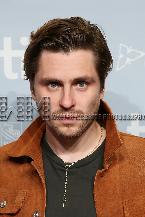Sverrir Gudnason attends the 'Borg/McEnroe' press conference during the 2017 Toronto International Film Festival at TIFF Bell Lightbox on September 7, 2017 in Toronto, Canada.