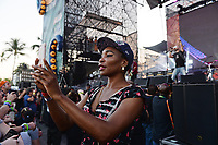 FORT LAUDERDALE FL - DECEMBER 02: Venus Williams is seen in the photo pit watching Live perform during the Riptide Music Festival at Fort Lauderdale Beach on December 2, 2018 in Fort Lauderdale, Florida. <br /> CAP/MPI04<br /> &copy;MPI04/Capital Pictures