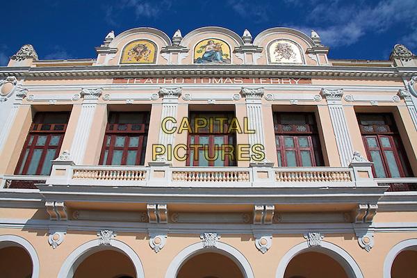 Teatro Tomas Terry, Tomas Terry Theatre, Parque Jose Marti, Plaza de Armas, Cienfuegos, Cuba