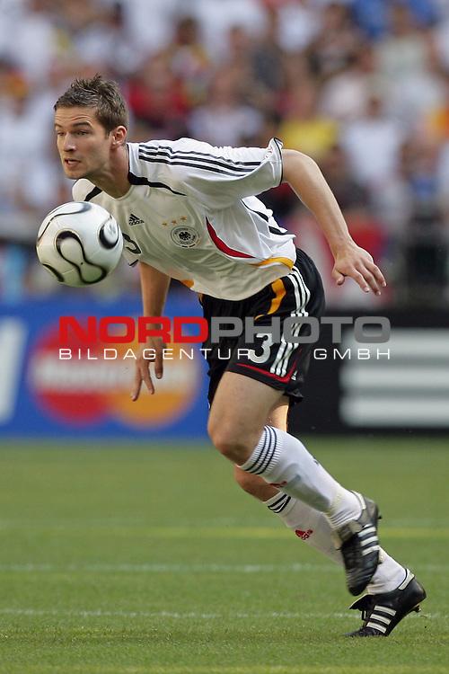 FIFA WM 2006 -  Round of Sixteen - / Viertelfinale <br /> Play    #49 (24-Jun) - Deutschland - Schweden 2:0<br /> <br /> Arne Friedrich <br /> <br /> Foto &copy; nordphoto