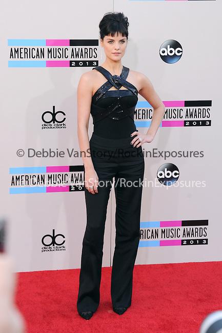 LOS ANGELES, CA - NOVEMBER 24: Jaimie Alexander arrives at   The 2013 American Music Awards held at Nokia Live in Los Angeles, California on November 24,2013                                                                               © 2013 Hollywood Press Agency