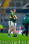 Colm Cooper,Paul Geaney, Kerry players after defeating Tyrone in the All Ireland Semi Final at Croke Park on Sunday.