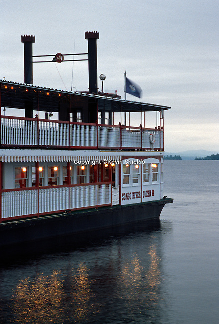 Songo River Queen 2 on Long Lake, Naples, Maine, USA
