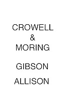 Crowell & Moring Gibson Allison