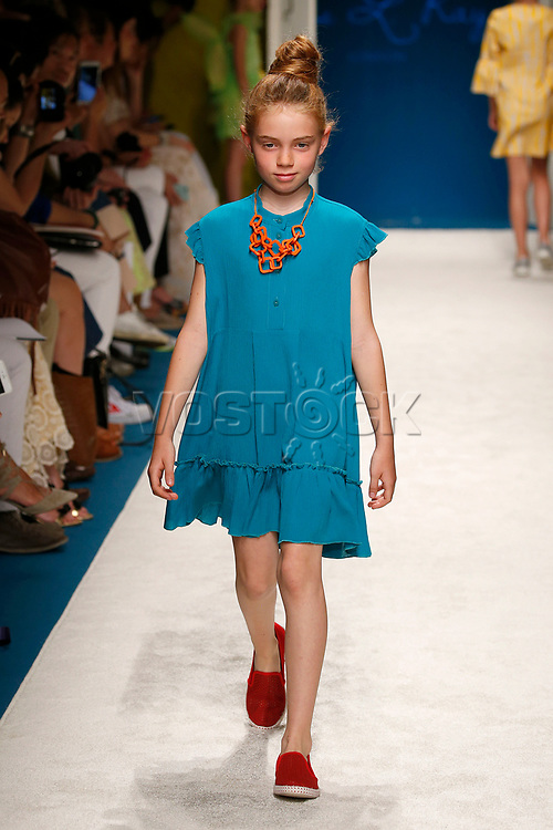 Miss L Ray - Pitti Bimbo Kids - spring summer 2017 - Florence - June 2016