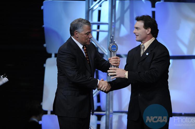 15 JAN 2010: Doug Flutie during the Honors Celebration at the 2010 NCAA Convention held at the Marriott Marquis and the Hyatt Regency in Atlanta, GA. Brett Wilhelm/NCAA Photos