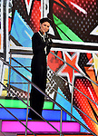 Emma Willis  at  the live eviction of  Celebrity Big Brother  at the Elstree Studios in Borehamwood, UK. 17th January 2017. Photo: Mobi Ajetunmobi