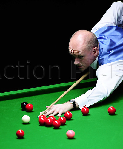 Mar 30, 2011; Beijing, CHINA; Peter Ebdon defeats Gerard Greene 5:2 in the first round at the Bank of Beijing 2011 World Snooker China Open.