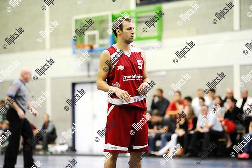 2015-09-12 / Basketbal / Seizoen 2015-2016 / Kontich Wolves - Guco Lier / Gunnar De Lepeleire<br /><br /><br />Foto: Mpics.be