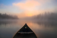 """""""Foggy Morning Paddle""""<br /> <br /> Getting on the water for an early morning paddle has many rewards."""