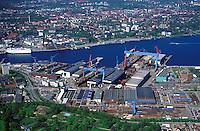 Deutschland, Kiel, Werft HDW