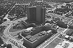 Aerial view of the Nassau County Medical Center in East Meadow, NY Photo by Jim Peppler. Copyright/Jim Peppler/.