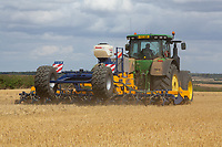 Drilling oilseed rape <br /> &copy;Tim Scrivener Photographer 07850 303986<br />      ....Covering Agriculture In The UK....