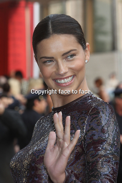Adriana Lima attends The 2013 CFDA Fashion Awards at Lincoln Center's Alice Tully Hall in New York, 03.06.2013. Credit: Rolf Mueller/face to face