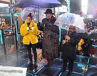 "NEW YORK - DECEMBER 31: Steve Harvey and Maria Menounos host ""FOX'S New Years Eve with Steve Harvey: Live From Times Square"" on December 31, 2018 in New York City. (Photo by Stephen Smith/Fox/PictureGroup)"