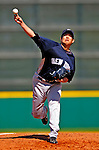 2 March 2009: New York Yankees' starting pitcher Chien-Ming Wang on the mound during a Spring Training game against the Houston Astros at Osceola County Stadium in Kissimmee, Florida. The teams played to a 5-5, 9-inning tie. Mandatory Photo Credit: Ed Wolfstein Photo