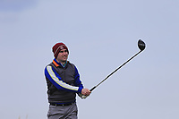 Anthony McDaid (Palmerstown Stud) during the first round of matchplay at the 2018 West of Ireland, in Co Sligo Golf Club, Rosses Point, Sligo, Co Sligo, Ireland. 01/04/2018.<br /> Picture: Golffile | Fran Caffrey<br /> <br /> <br /> All photo usage must carry mandatory copyright credit (&copy; Golffile | Fran Caffrey)