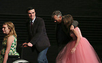 "Madison Ferris, Finn Wittrock, Joe Mantello and Sally Field during the Broadway Opening Night Performance Curtain Call Bows for ""The Glass Menagerie'"" at the Belasco Theatre on March 9, 2017 in New York City."