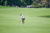 Cristie Kerr (USA) hits her approach shot on 7 during round 2 of the 2018 KPMG Women's PGA Championship, Kemper Lakes Golf Club, at Kildeer, Illinois, USA. 6/29/2018.<br /> Picture: Golffile | Ken Murray<br /> <br /> All photo usage must carry mandatory copyright credit (© Golffile | Ken Murray)