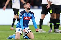 Dries Mertens of Napoli dejection<br /> Napoli 10-12-2019 Stadio San Paolo <br /> Football Champions League 2019/2020 Group E<br /> SSC Napoli - KRC Genk<br /> Photo Cesare Purini / Insidefoto