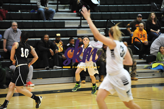 SU women's basketball hosted Arcadia Saturday afternoon at Owings Mills gymnasium and ran away with a 56-78 victory over the Knights.