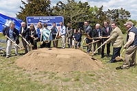 Ground Breaking Ceremony for the New Meigs Point Nature Center at Hammonasset Beach State Park  <br /> Connecticut State Project No: BI-T-601 | Northeast Collaborative Architects  Contractor: Secondino & Son