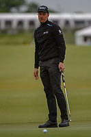 Henrik Stenson (SWE) barely misses his birdie putt on 16 during round 2 of the AT&T Byron Nelson, Trinity Forest Golf Club, Dallas, Texas, USA. 5/10/2019.<br /> Picture: Golffile | Ken Murray<br /> <br /> <br /> All photo usage must carry mandatory copyright credit (© Golffile | Ken Murray)