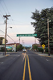 USA, Oregon, Willamette Valley, town shot in Carlton