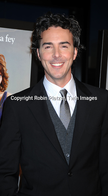 "director Shawn Levy arriving at The Premiere of ""Date Night on April 6, 2010 at the Ziegfeld Theatre in New York City. The movie stars Tina Fey, Steve Carell, Taraji P Henson, Common, and Leighton Meester."