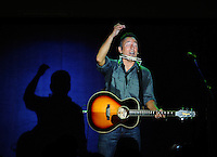 "LAURA FONG | Bruce Springsteen played six songs to a crowd of 3,000 in Parma Thursday. His set included his ballad to Ohio ""Youngstown"" and ended with ""Thunder Road""."