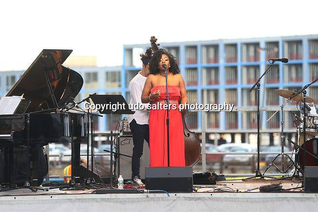 Concerts at Lincoln Harbor Park on the Weehawken Waterfront featuring Alicia Olatuja and her band (Toru Dodo on Piano, David Rosenthal on Guitar, Keith Witty on bass, Juan Pastor on drums, Rasul A-Sallam on vocals, Schadrack Pierre on vocals and guest Caleb Collins on piano and vocals<br />  <br /> save
