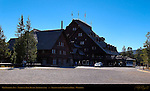 Old Faithful Inn 1903-04, National Park Rustic Architecture, Yellowstone National Park, Wyoming
