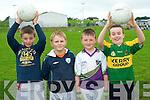 Having fun at the Causway GAA Cúl Camp. .L-R Tadhg Dineen, Seimi O'Fuaráin, Daniel O'Loughlin and Gearoid Quilter.